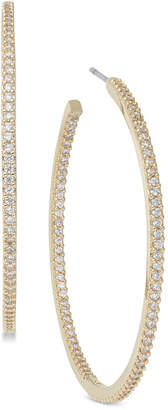 Kate Spade Pave Large Hoop Earrings
