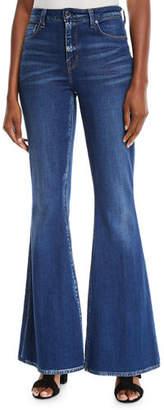 Elie Tahari Leone Flare-Leg Jeans