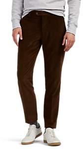Eleventy Men's Cotton-Cashmere Corduroy Trousers - Brown