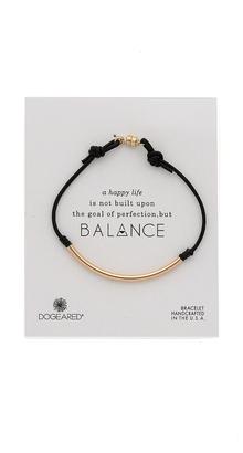 Dogeared Balance Tube Bracelet $42 thestylecure.com