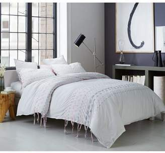 Byourbed Threads Textured Oversized Duvet Cover - Gray/Pink
