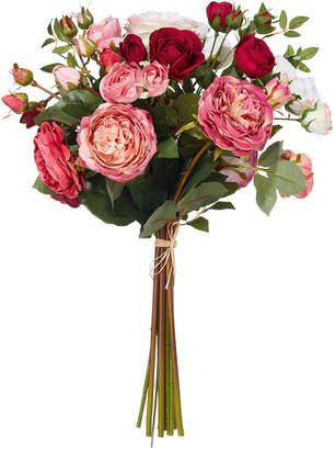 OKA Faux Garden Rose Bunch, Large