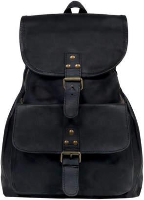 At Notonthehighstreet Mahi Leather Personalised Explorer Backpack Rucksack