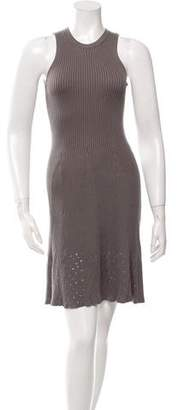 Calvin Klein Collection Knit Embellished Dress