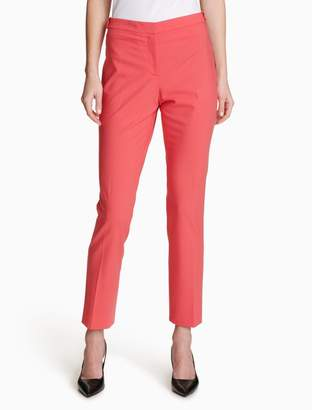 Calvin Klein luxe highline ankle pants