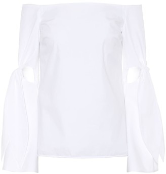 Ellery Lopez off-the-shoulder top