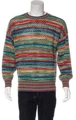 Missoni Knitted Patterned Sweater