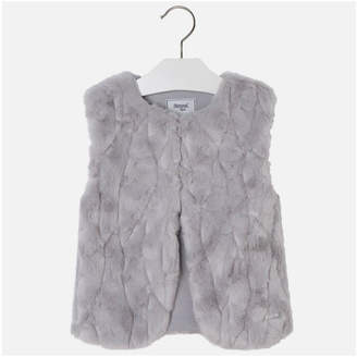 Mayoral Synthetic Fur Vest