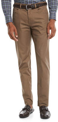 Peter Millar Men's 5-Pocket Soft Touch Twill Pants