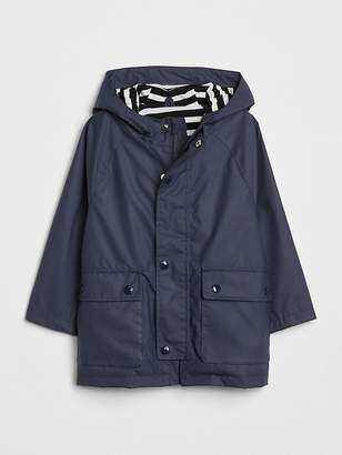 Gap Jersey-Lined Raincoat