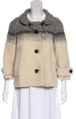 Prada Shearling & Wool Jacket