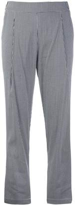 Semi-Couture Semicouture Julius Vichy trousers