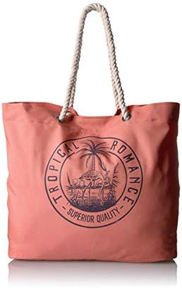 Roxy Tropical Vibe Printed Tote Beach Bag