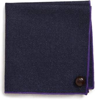 Wilson Armstrong & Solid Wool Pocket Square