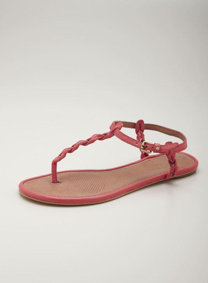 Corso Como Brandy Twist Flat Thong Sandal