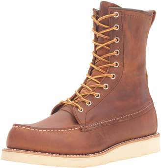 """Red Wing Shoes Men's 8"""" Moc Toe Boot"""