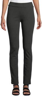 NYDJ Basic Ponte Pull-On Leggings, Grey