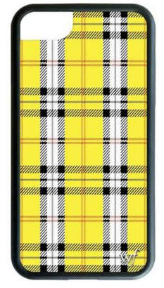 Wildflower Cases Yellow Plaid iPhone 6/7/8 Case