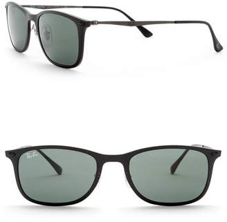 Ray-Ban 52mm Rectangle Light Ray Sunglasses