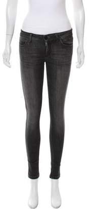 DL1961 Emma Mid-Rise Skinny Jeans