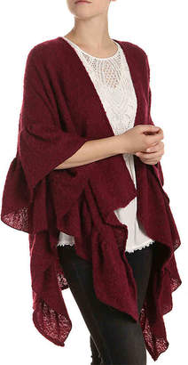 Kelly & Katie Ruffle Boucle Kimono - Women's