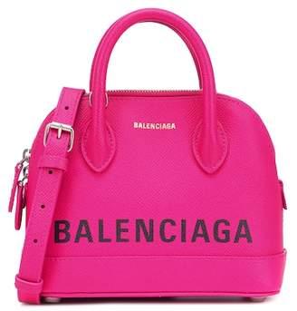 Balenciaga Ville XS leather tote