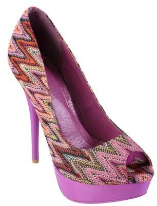 Journee Collection Womens Open Toe Platform Stilettos