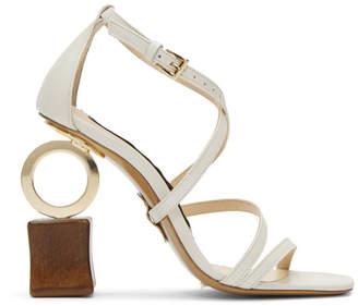 Jacquemus Off-White Samba Sandals