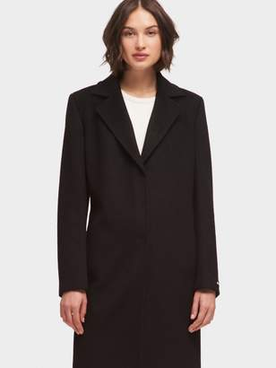 DKNY Brushed Wool Coat