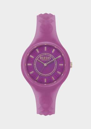 Versus Fire Island Purple Dial Watch
