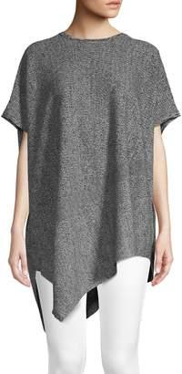 Eileen Fisher Hemp-Blend Short-Sleeved Sweater