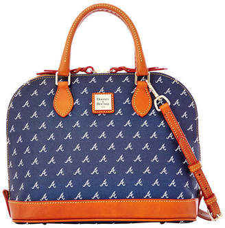 Dooney & Bourke Atlanta Braves Zip Zip Satchel