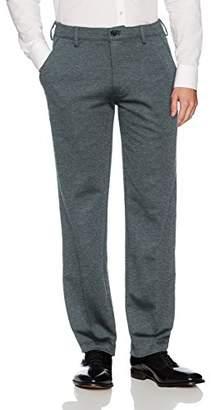 Van Heusen Men's Flex Straight Fit Flat Front X3 Knit Pant