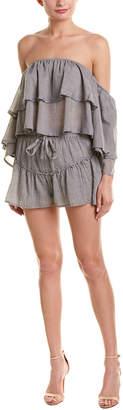 Double Zero 2Pc Off-The-Shoulder Top & Skirt Set