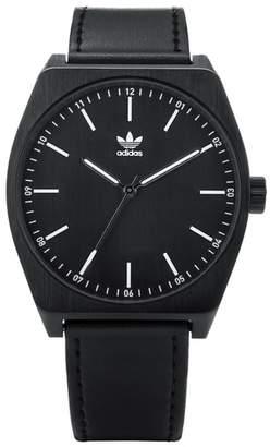 adidas Process Leather Strap Watch, 38mm