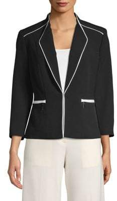 Kasper Suits Shawl Collar Jacket