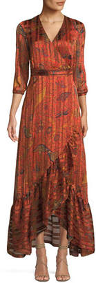 BA&SH Disy Printed Maxi Dress