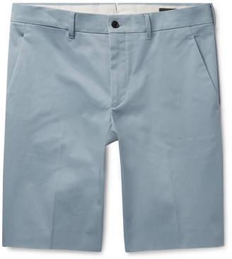 Prada Slim-Fit Stretch-Cotton Twill Bermuda Shorts
