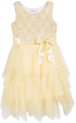Bonnie Jean Sequin Top Tulle Dress, Little Girls (2-6X) $74 thestylecure.com