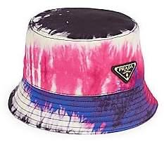 Prada Women's Tie Dye Bucket Hat