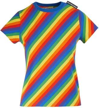 Balenciaga Striped jersey t-shirt