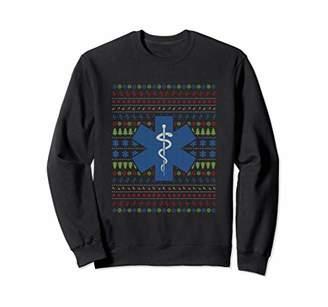 Ugly Christmas Sweater EMT Paramedic Medical Emergency Shirt