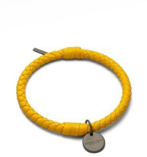 Bottega VenetaBottega Veneta Intrecciato Leather Bracelet