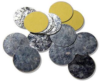 Z Palette Round Metal Stickers