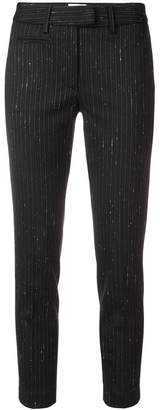 Dondup classic pinstriped trousers
