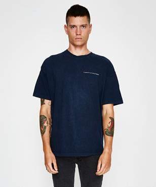 Storeroom Vintage Vintage Brand Tommy Logo Flag T-Shirt Navy (XXL)