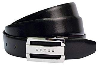 Cross Men's Genuine Leather Manresa Cut-to-Fit Style. 30 mm Flat Buckle (Reversible) Belt - ( AC308416N)