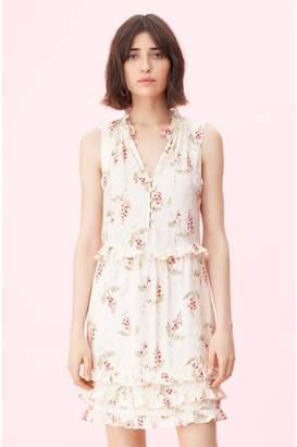 5b973f43336 Rebecca Taylor Ivie Fleur Print Jacquard Dress