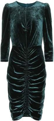 Diane von Furstenberg Bruna velvet dress