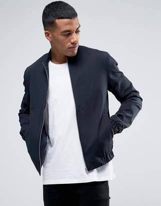 Minimum Eamon Cotton Bomber Jacket Slim Fit